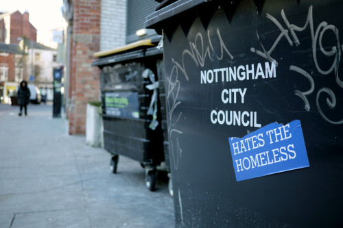 Nottingham City Council Hates the Homeless